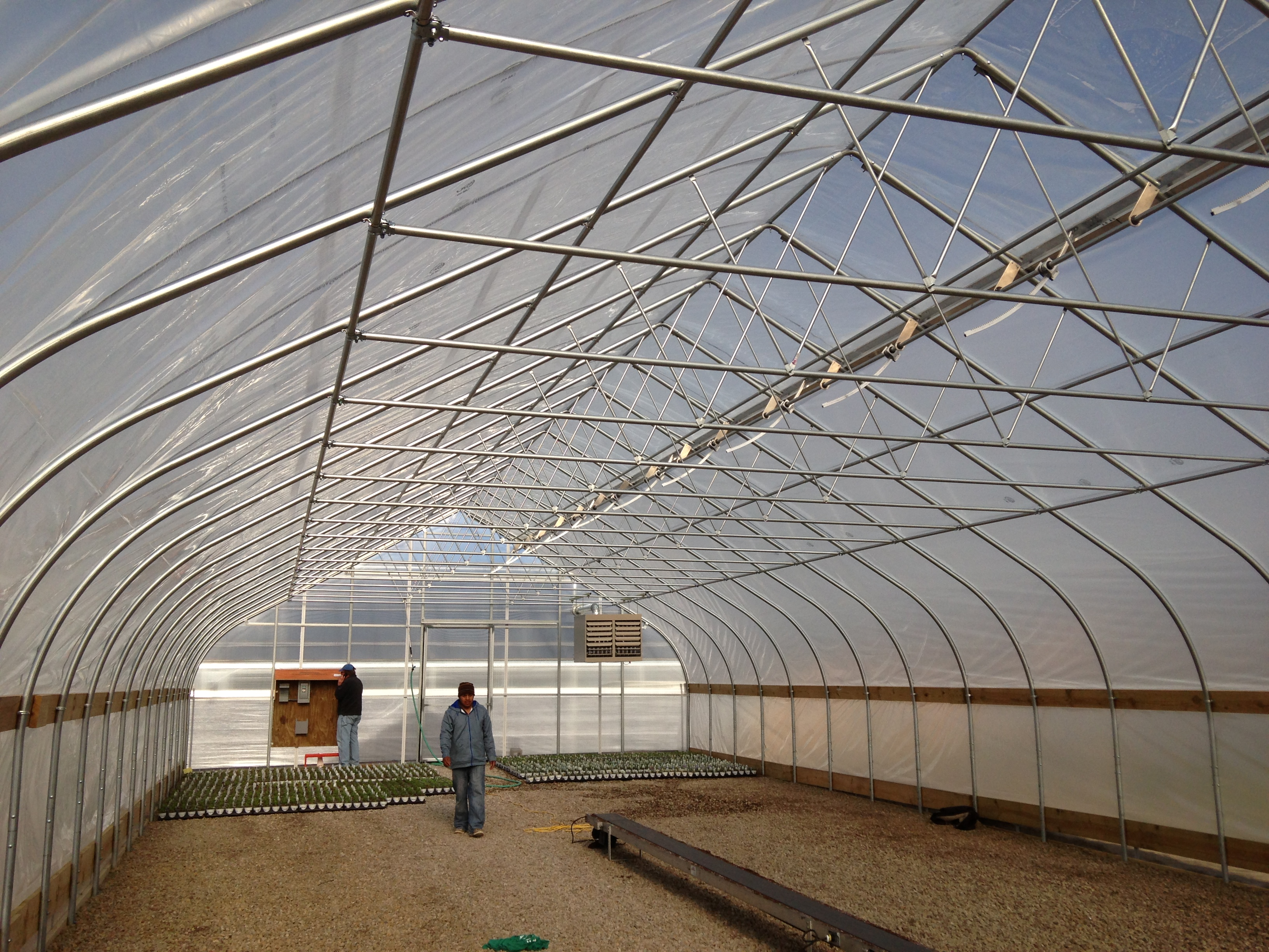 Linx Greenhouse Systems Equipment Linx Poly Roof Vent