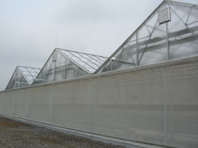 Linx Greenhouse Systems Equipment Insect Screen