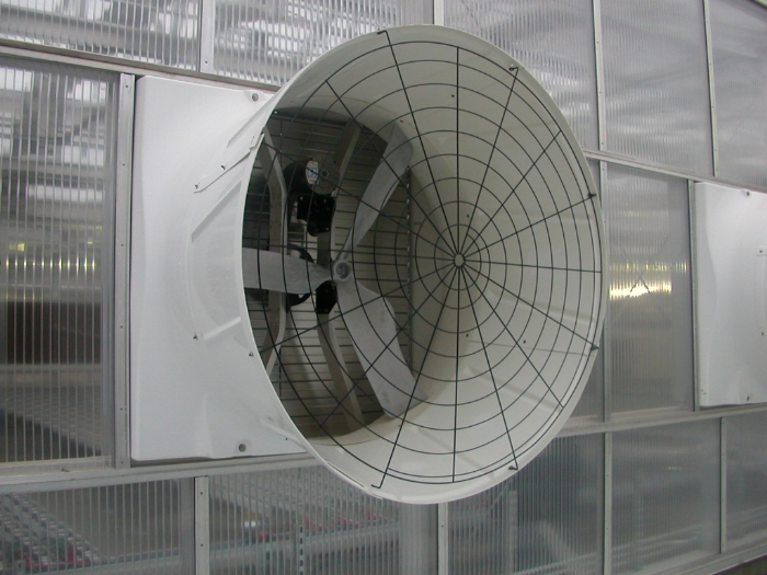 Linx Greenhouse Systems Mechanical Ventilation