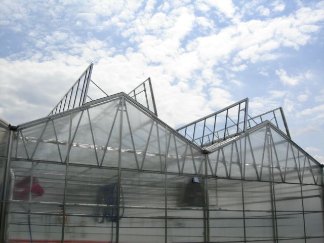 Linx Greenhouse Systems Natural Ventilation Roof Vents