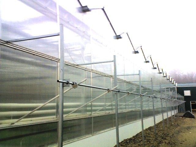 Linx Greenhouse Systems Natural Ventilation Side Vents